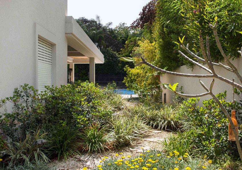 תכנון גינה בסביון - ואטרו אדריכלות נוף