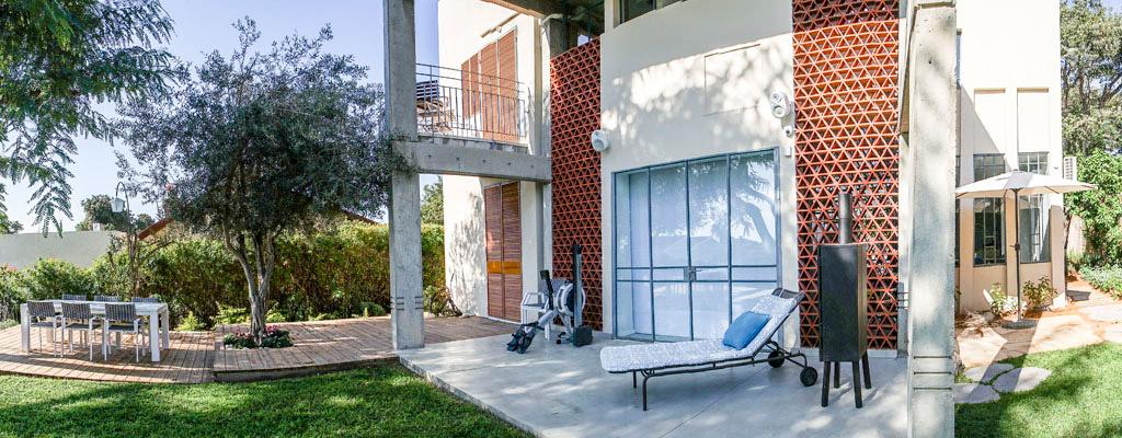 ואטרו אדריכלות - תכנון גינה בקדימה